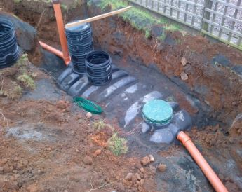 Septic tanks Tricel Vento from Depawater