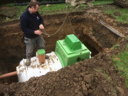 Sewage Treatment Plant installation in Armagh