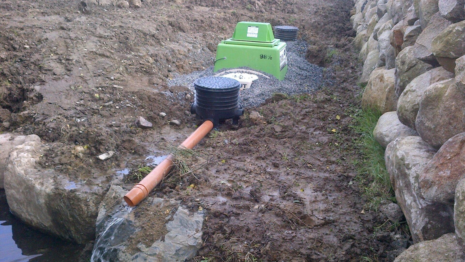 Tricel Vitae wastewater treatment plant