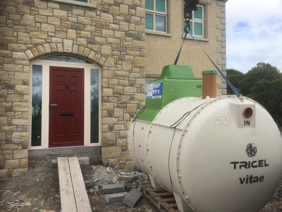 Wastewater treatment plants Tricel Vitae