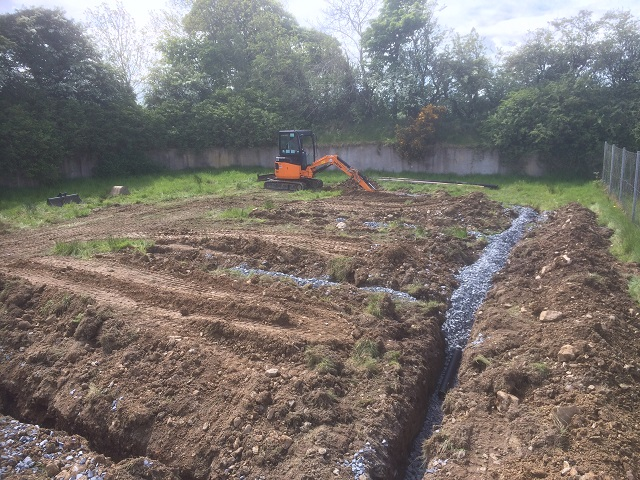 Septic tank upgrade in County Down