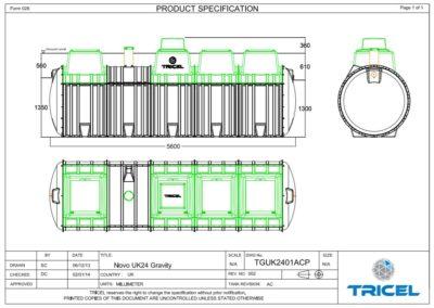 Tricel Novo P24 (Drawing)