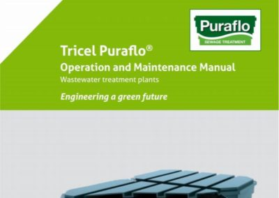 Tricel Puraflo (Maintenance Manual)