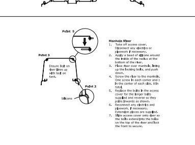 Tricel Riser (Installation Guide)
