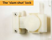 Slam Shut Lock (SSL) inside the door