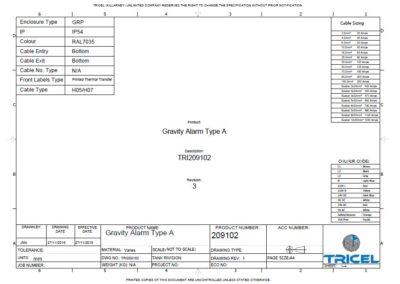 Wiring Diagram – UK Novo – P6, P8, P10, P12 Gravity