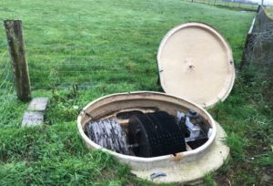 Servicing Kingspan and Klarchester waste water treatment tanks