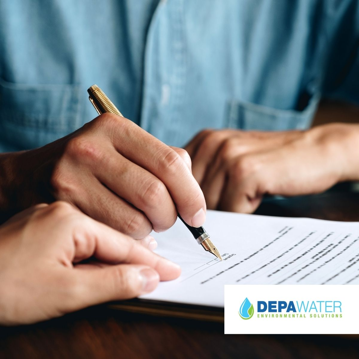DEPA WATER CONSENT TO DISCHARGE